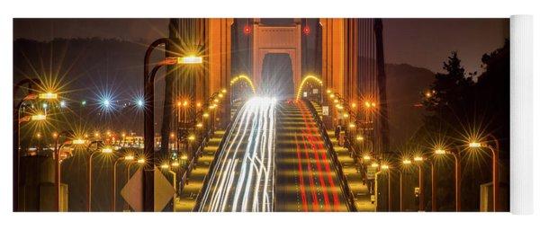 Golden Gate Traffic Yoga Mat