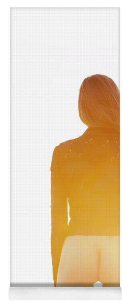 Golden Hour Girl Yoga Mat