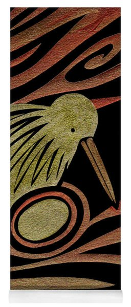 Golden Kiwi Yoga Mat
