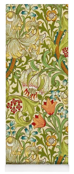 Golden Lily Yoga Mat