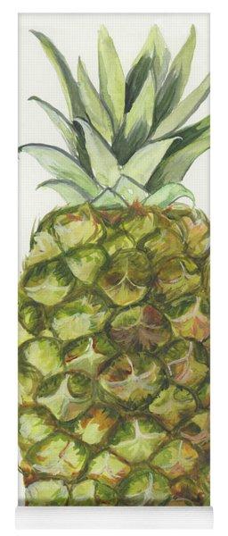 Golden Pineapple Yoga Mat