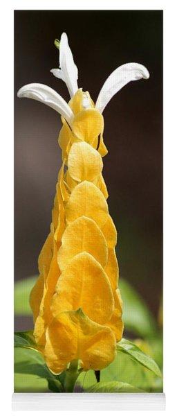Golden Shrimp Flower Yoga Mat