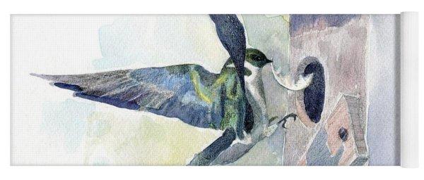Golden Swallow Yoga Mat