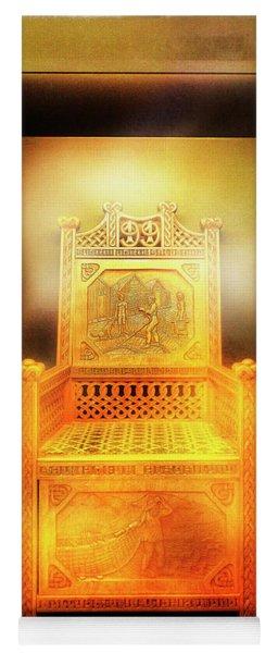 Golden Throne Yoga Mat