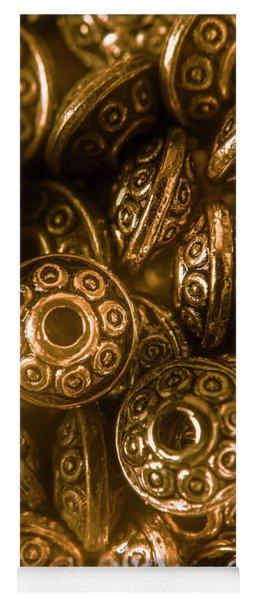 Golden Ufos From Egyptology  Yoga Mat