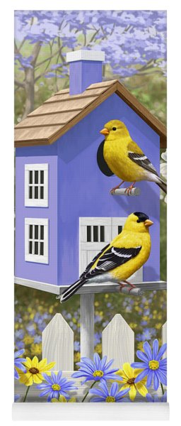 Goldfinch Garden Home Yoga Mat
