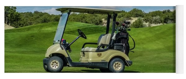 Golf Cart Yoga Mat