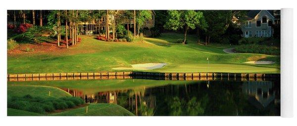 Golf The Landing #3 Reynolds Plantation Lake Oconee Ga Art Yoga Mat