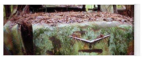 Gone Girl Old Car Image Art Yoga Mat