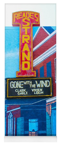 Gone With The Wind At The Strand Yoga Mat