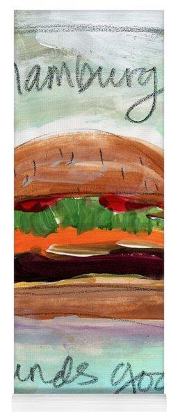 Good Burger Yoga Mat