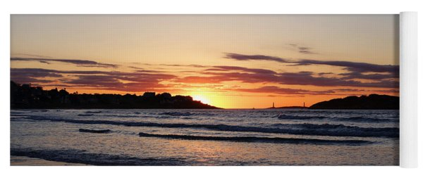 Good Harbor Beach At Sunrise Gloucester Ma Yoga Mat