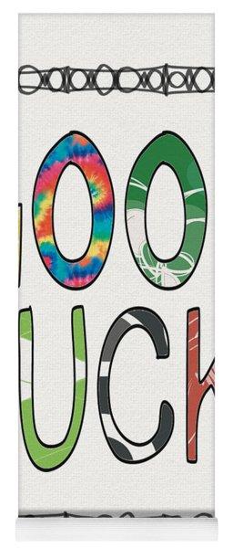 Good Luck Card- Art By Linda Woods Yoga Mat