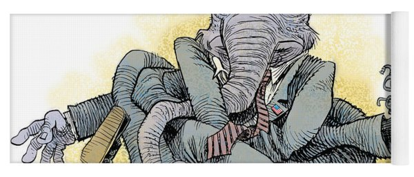 Gop Tied Up In A Knot Yoga Mat
