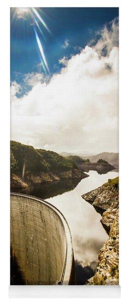 Gordon Dam Tasmania  Yoga Mat