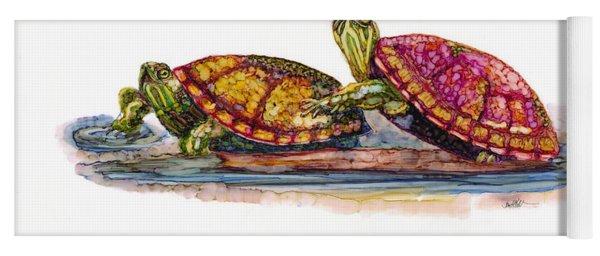 Spring Turtles Yoga Mat