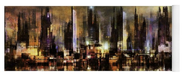Gotham City IIi Yoga Mat