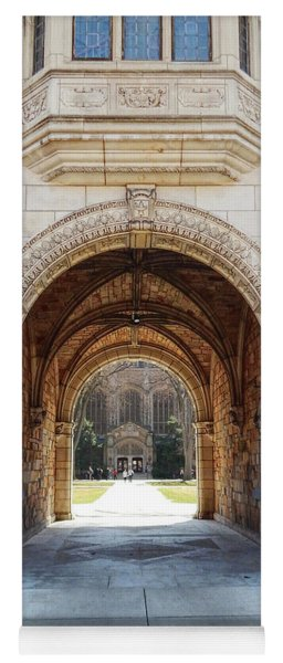 Gothic Archway Photography Yoga Mat