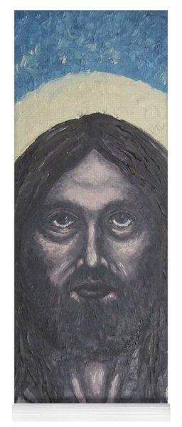 Gothic Jesus Yoga Mat