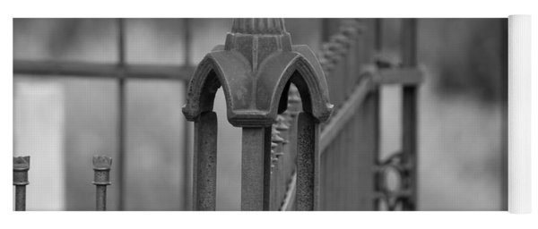 Gothic Ornamental Fence In Boothill Yoga Mat