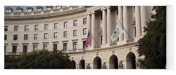 Government Achitecture In Washington Dc Yoga Mat