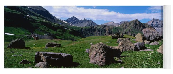 Governors Basin Rocky Mountains Co Yoga Mat