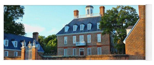 Governors Palace Colonial Williamsburg  4808 Yoga Mat