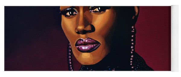 Grace Jones Yoga Mat