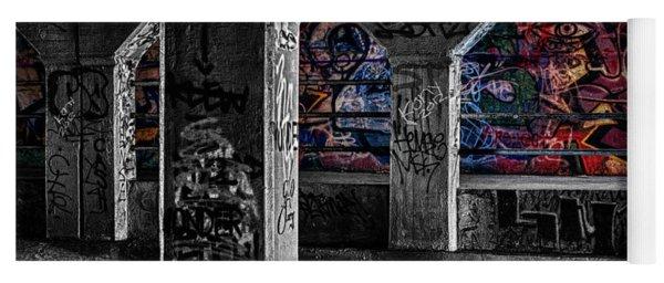 Graffiti Galore 2 Yoga Mat