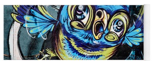 Graffiti Owl Yoga Mat