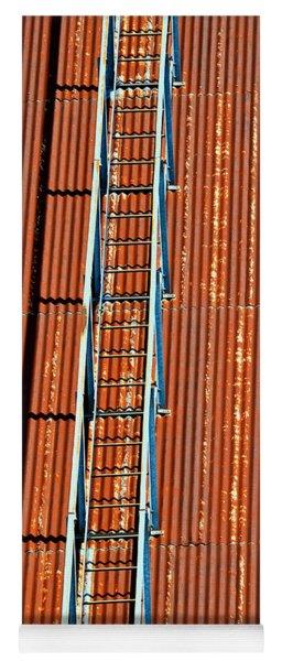 Grain Stairway Yoga Mat
