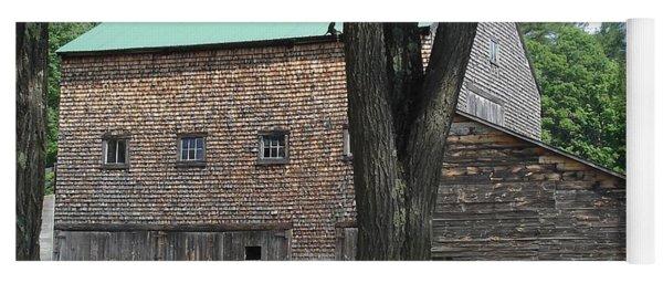 Grammie's Barn Through The Trees Yoga Mat