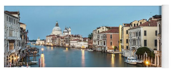 Grand Canal In Venice, Italy Yoga Mat