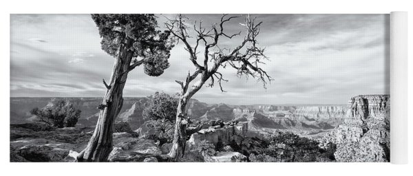 Grand Canyon - Monochrome Yoga Mat