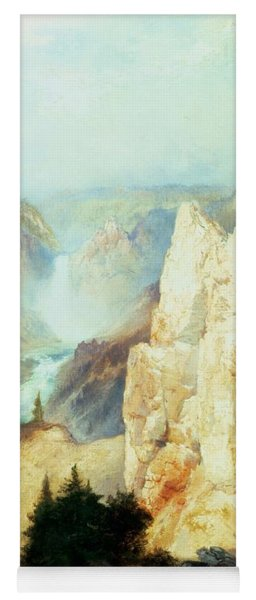 Grand Canyon Of The Yellowstone Park Yoga Mat