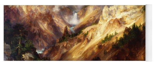 Grand Canyon Of The Yellowstone Yoga Mat