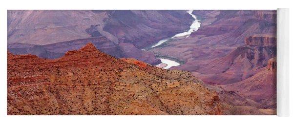 Grand Canyon River View Yoga Mat