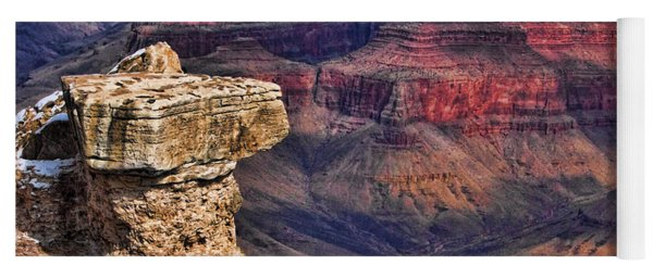 Grand Canyon Stacked Rock Yoga Mat