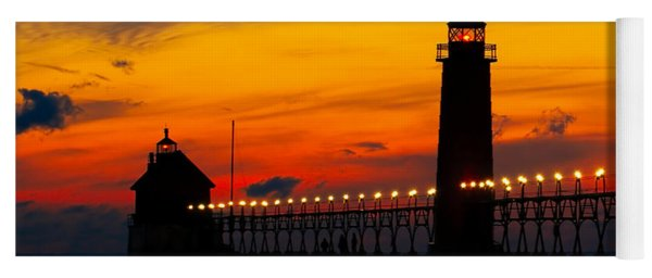 Grand Haven Sunset Yoga Mat