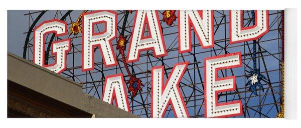 Grand Lake Theatre . Oakland California . 7d13495 Yoga Mat