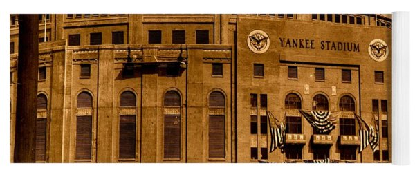 Grand Opening Of Old Yankee Stadium April 18 1923 Yoga Mat