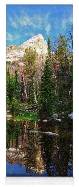 Grand Teton High Alpine Reflections Yoga Mat