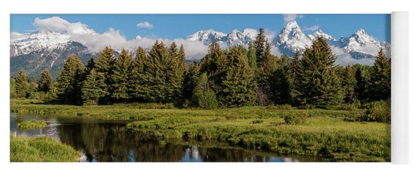 Grand Teton Reflection Yoga Mat