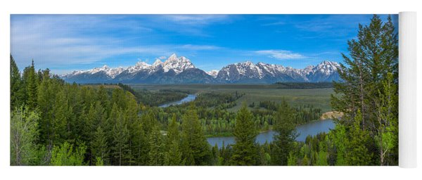 Grand Teton Vista Yoga Mat