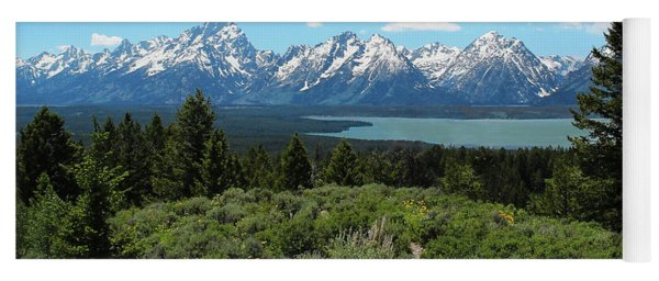 Grand Tetons Yoga Mat