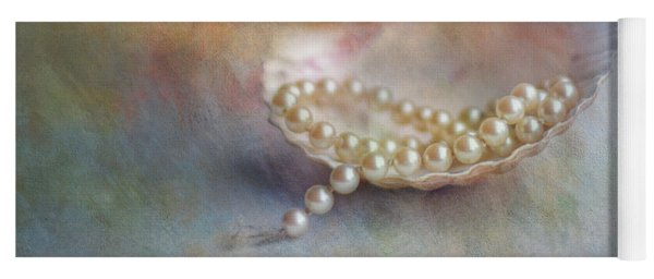 Grandmas Pearls Yoga Mat