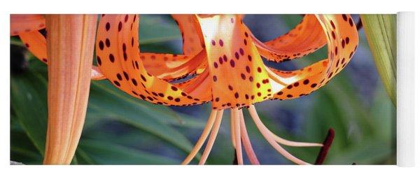 Grandma's Tiger Lilies Yoga Mat
