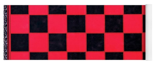Grandpa's Checkerboard Yoga Mat