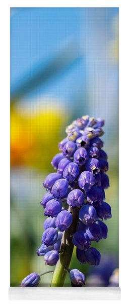 Grape Hyacinth Yoga Mat
