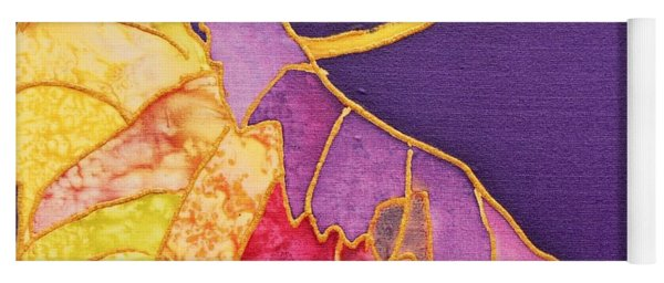 Grape Leaves Yoga Mat